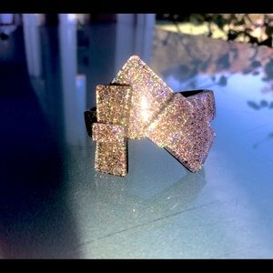 Retro Marc By Marc Jacobs Glittered Bow Bracelet